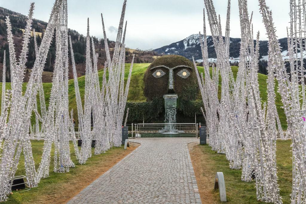 Innsbruck in winter: - Swarovski Kristallwelten
