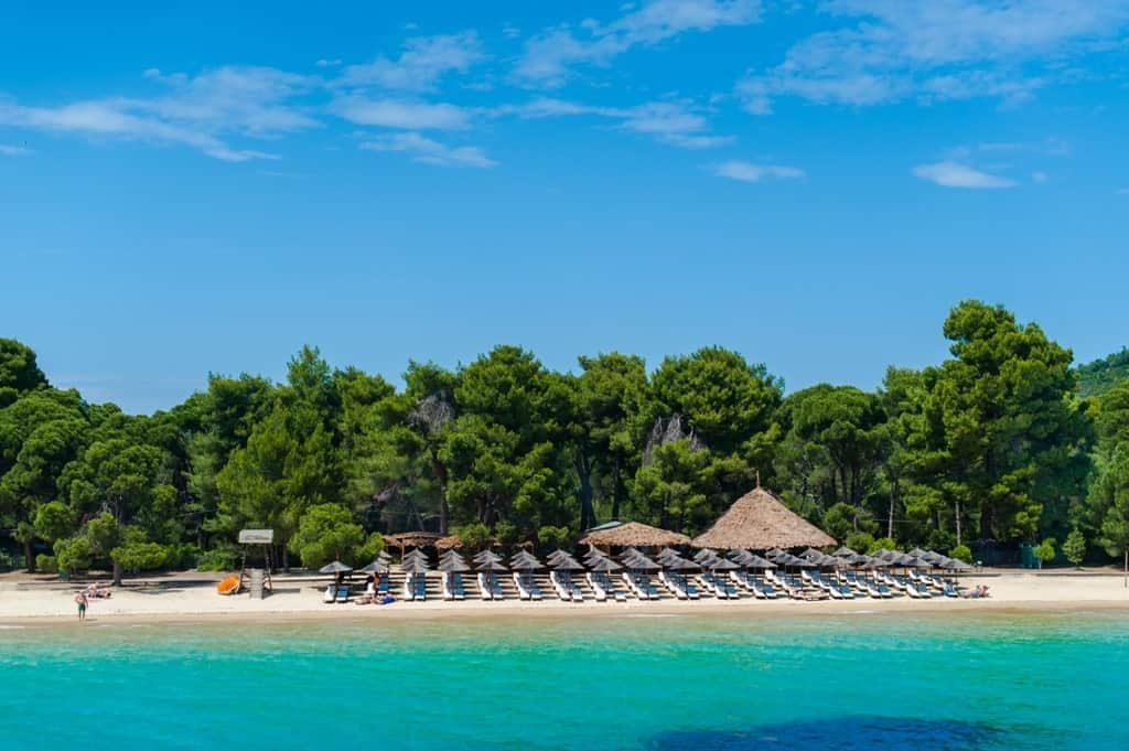 best sandy beaches in Greece - koukounaries - skiathos