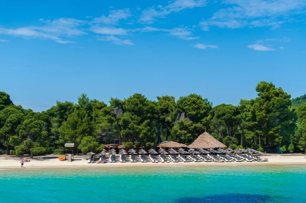 best sandy beaches in Greece - koukounaries - skiathos