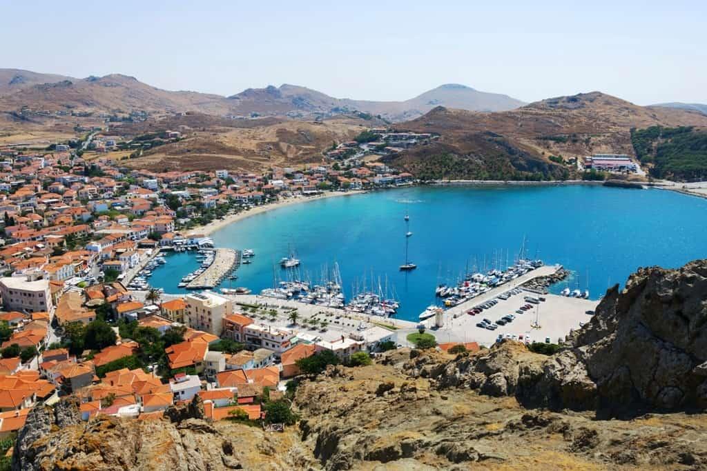 Lemnos - quiet Greek island