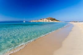 best sandy beaches in Greece - Simos Elafonissos