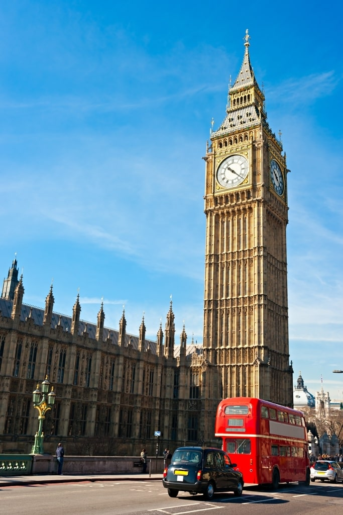 The Big Ben, the House of Parliament - 7 days in London itinerary