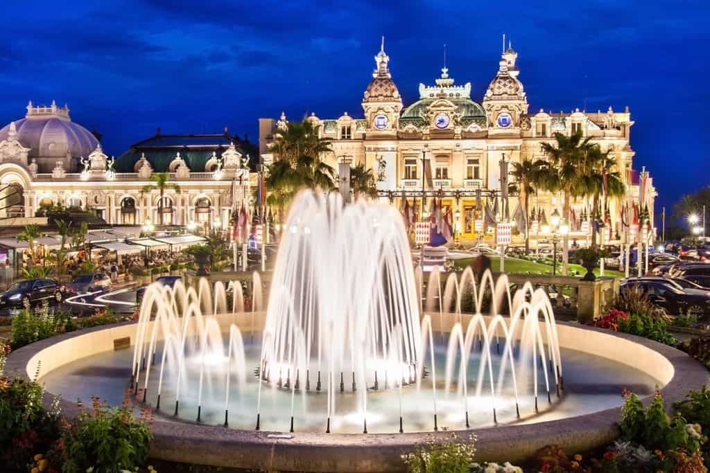 Best place to visit in January in Europe - Monte Carlo