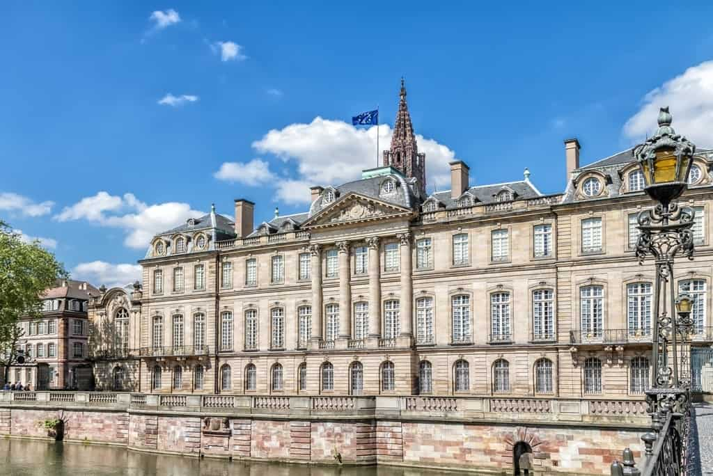 The Rohan palace in Strasbourg - One day in Strasbourg in winter