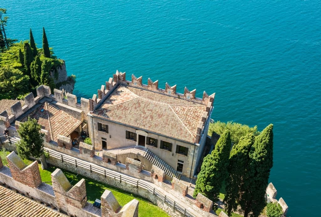 Scaliger Castle in Malcesine - things to do in Lake Garda