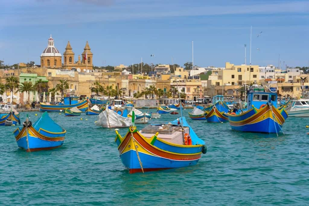 where to stay in Malta - Marsaxlokk