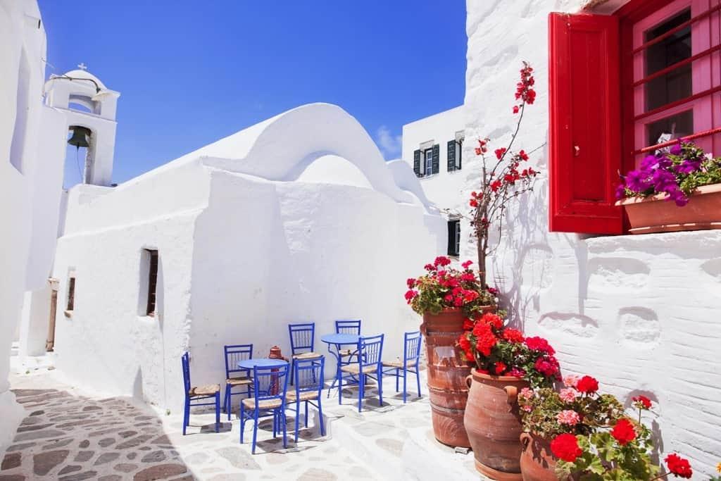 Amorgos, quiet island in Greece