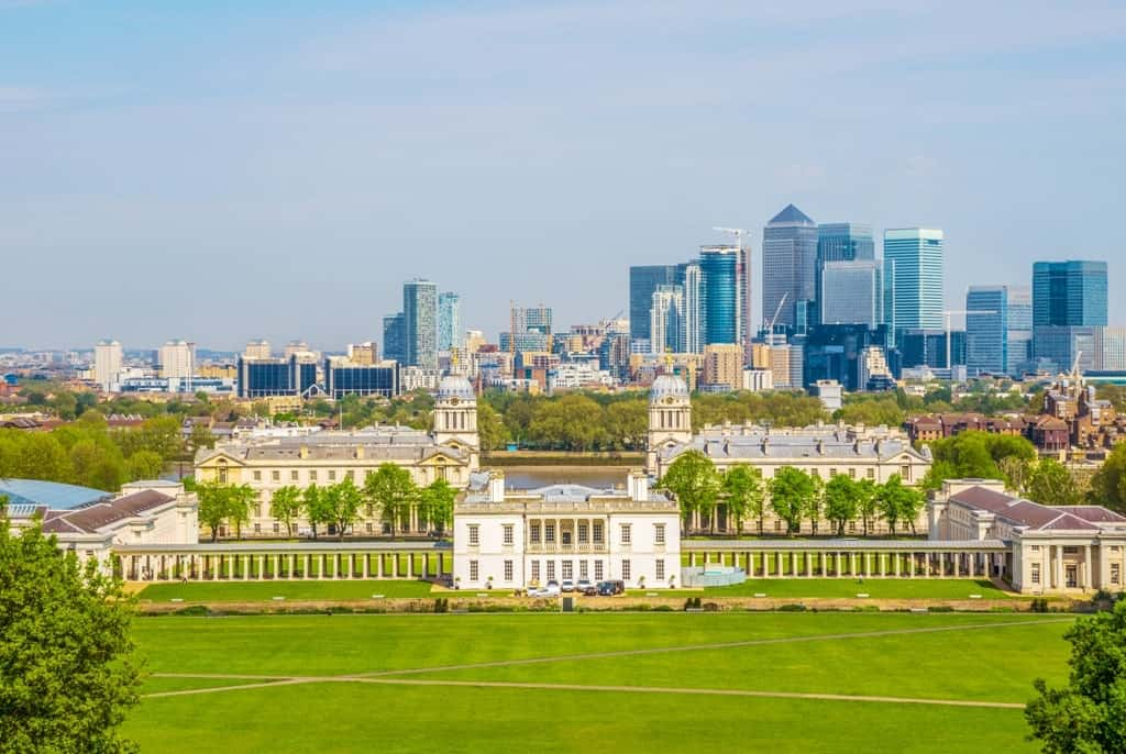 Greenwich Park - London in 7 days itinerary