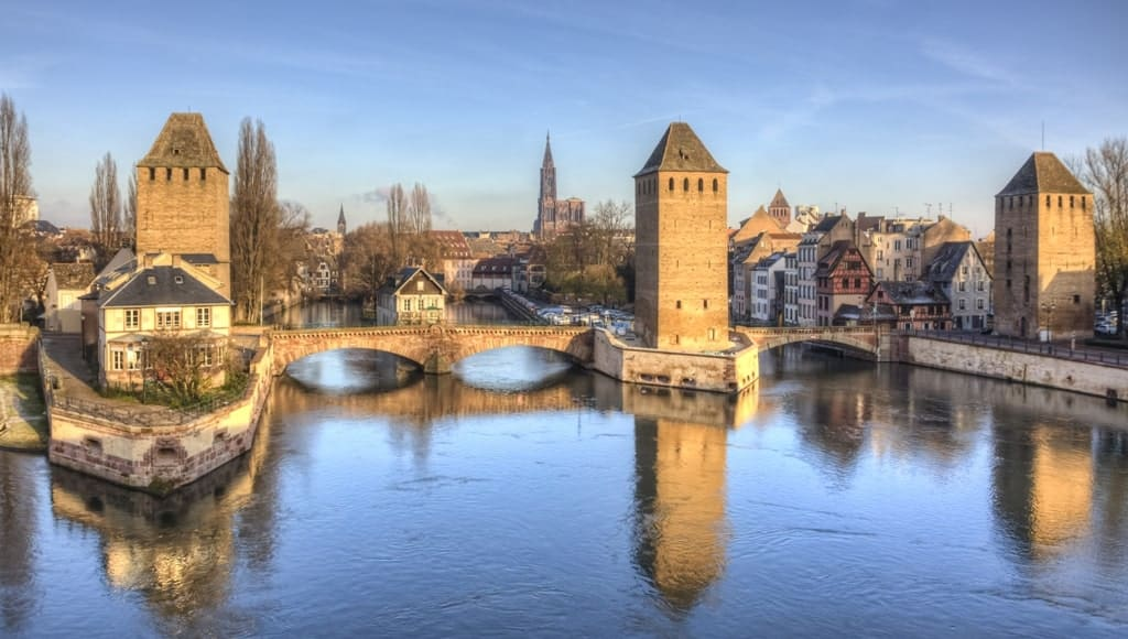 One day in Strasbourg in winter - Ponts Couverts