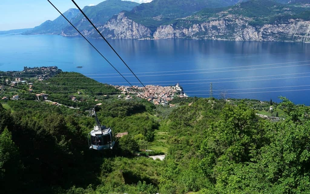 Malcesine Monte Baldo Cable Car - things to do in lake Garda Italy
