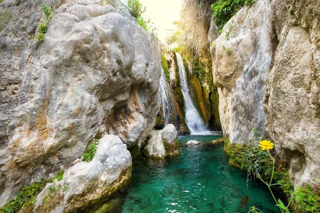 Algar Waterfalls - things to do in Benidorm, Spain