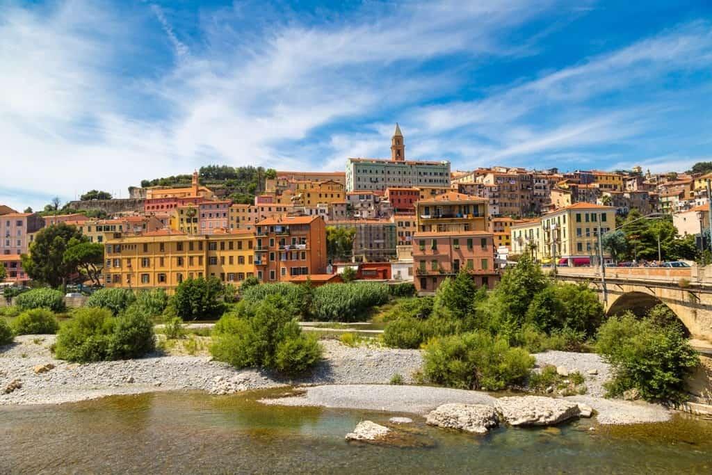 Ventimiglia a beautiful town in the Italian Riviera