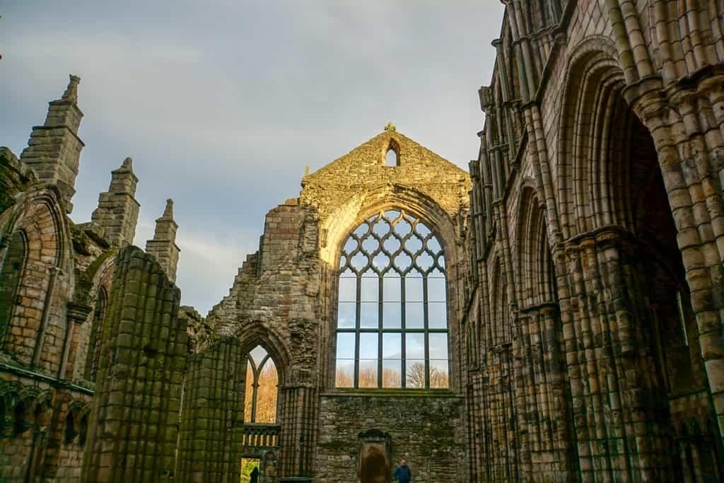 Holyrood Palace - three days in Edinburgh