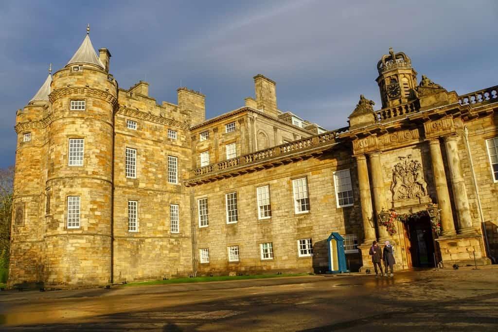 Holyrood Palace - 3 days in Edinburgh Scotland