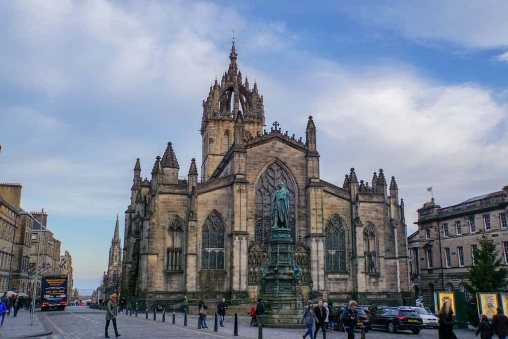St. Giles Cathedral - three days in Edinburgh