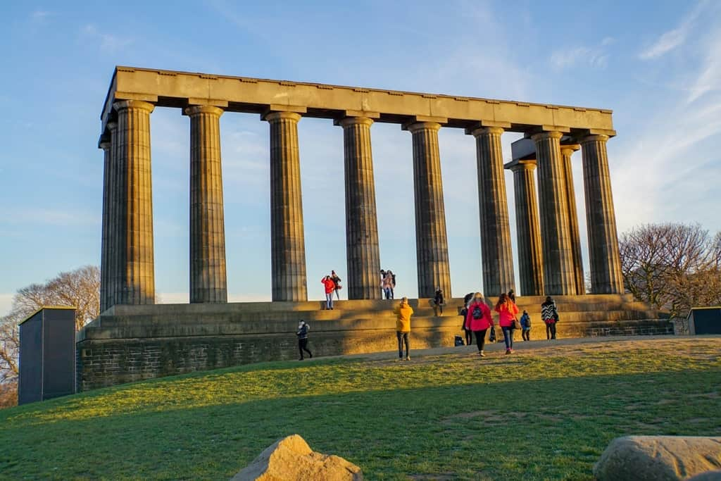 Carlton Hill - 3 day Edinburgh itinerary