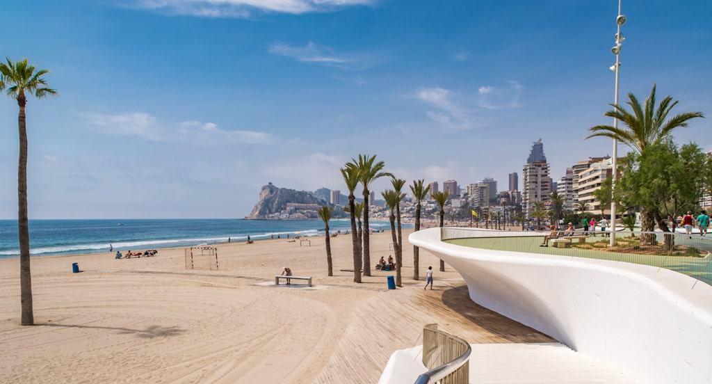 Poniente Beach - things to do in Benidorm, Spain