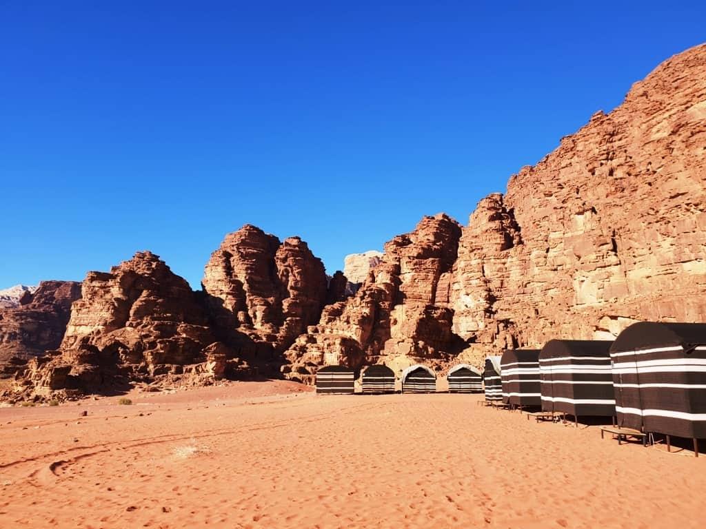 Wadi Rum Bedouin Camp - Jordan itinerary