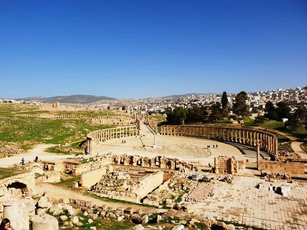 Jerash - Jordan itinerary