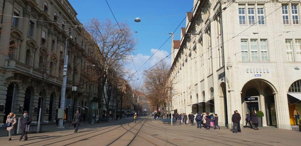 Bahnhofstrasse - 2 days in Zurich