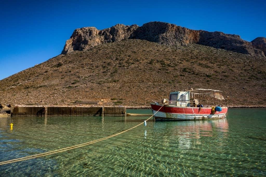 Hora Sfakion, Crete in  Greece