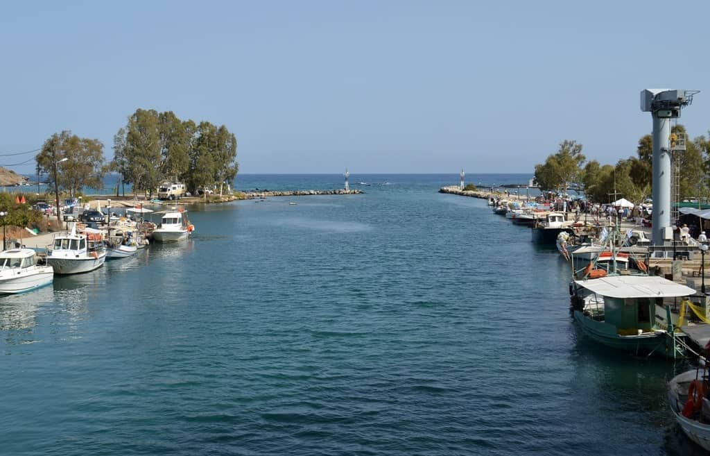 Georgiopolis, Crete in Greece