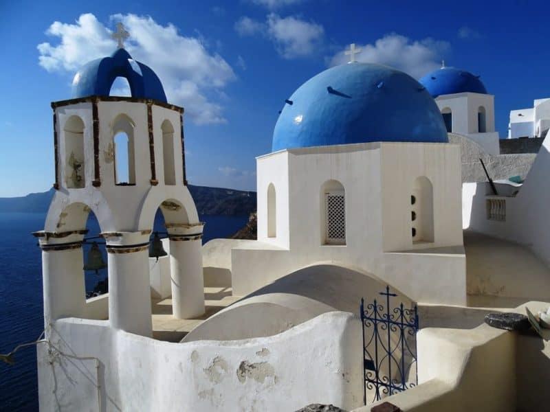 Oia Santorini in November
