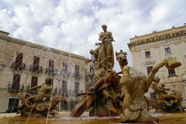 Fountain of Diana Ortigia