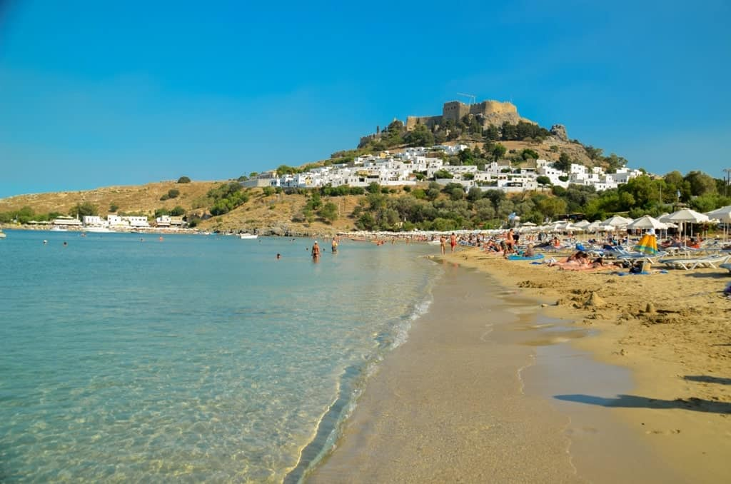 where to stay in Rhodes - Lindos