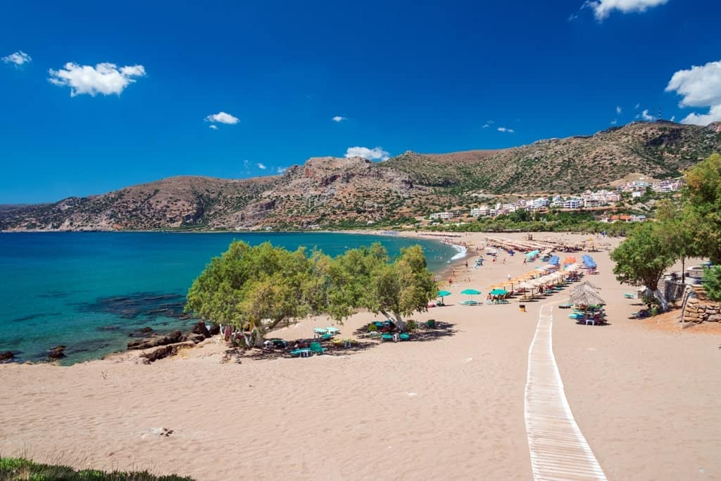 Paleochora beach - where to stay in crete