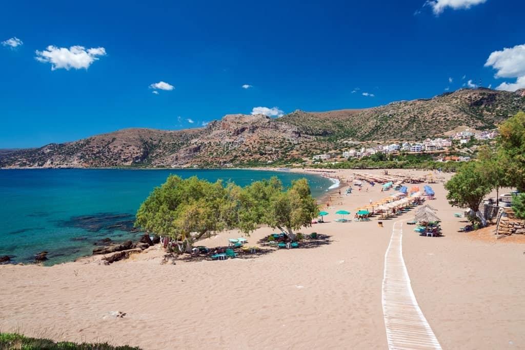 Paleochora beach - where to stay in crete