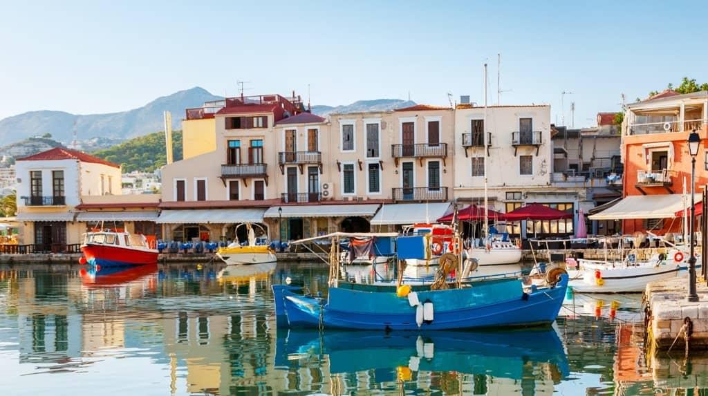 best places to stay in crete - Rethymno