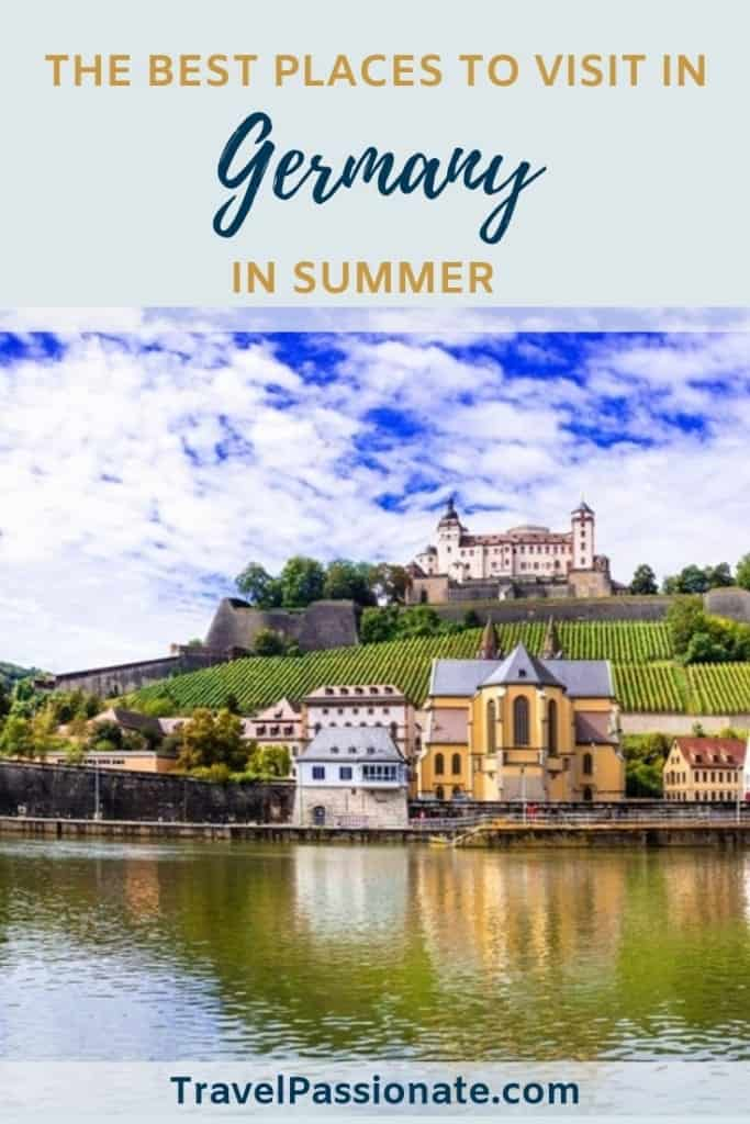 The best summer destinations in Germany, The best places to visit in Germany in the summer, #Germany #summer #travel