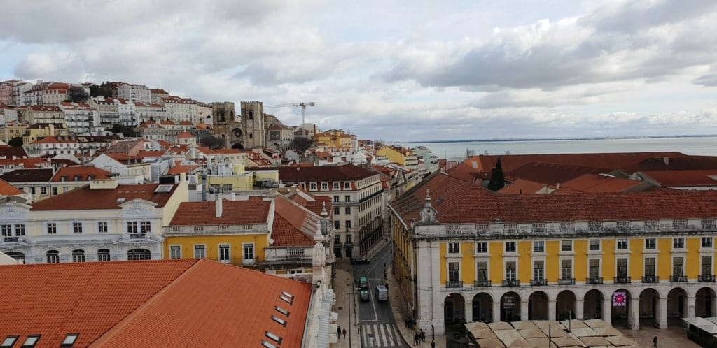 View from Arco da Rua Augusta - How to spend 4 days in 4 days
