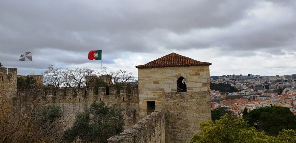 The Castelo de Sao Jorge -4 day Lisbon itinerary