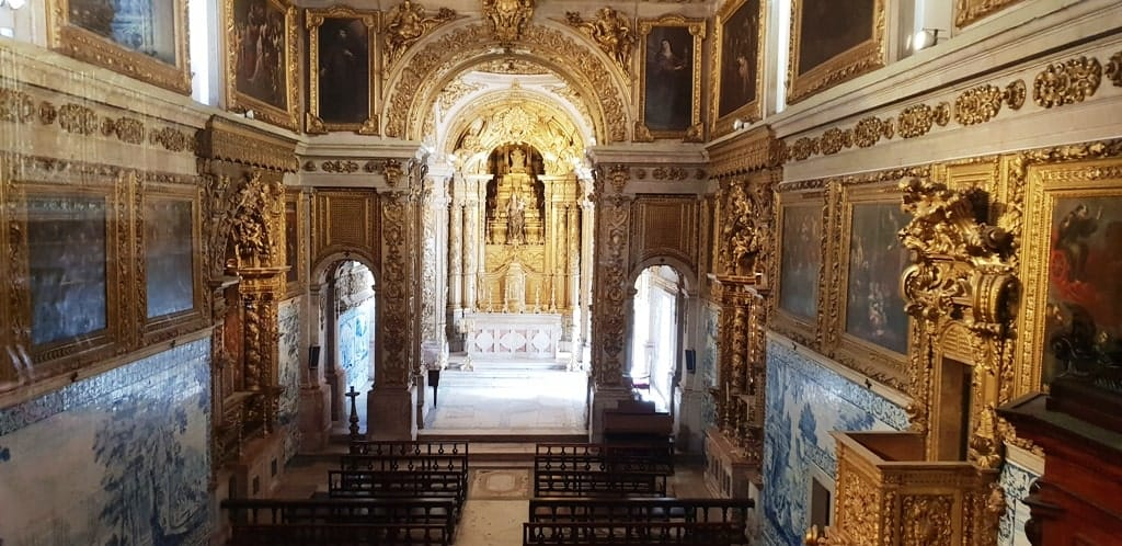 Museo de Azulejos - Church - Museo de Azulejos Lisbon itinerary