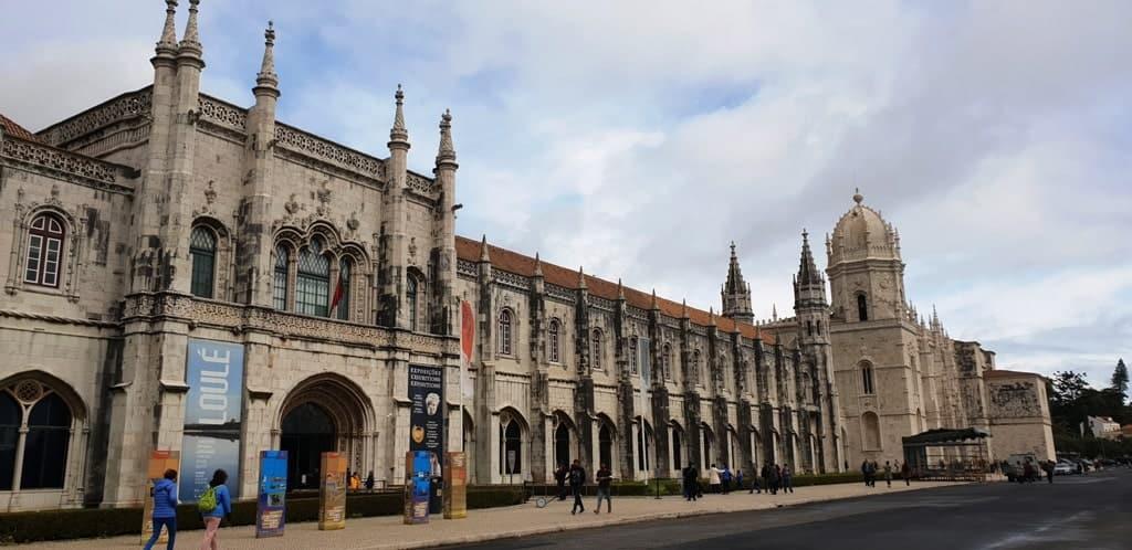 Mosteiro dos Jeronimos - Lisbon itinerary
