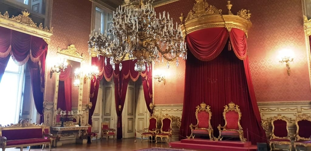 Ajuda National Palace 1 - 4 days in Lisbon