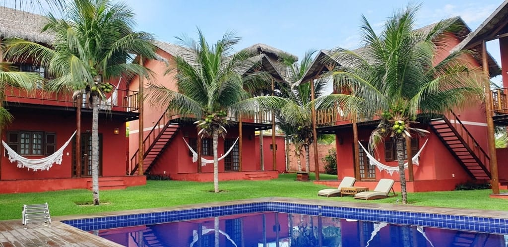 Long Beach Hotel at Canoa Quebrada Brazil