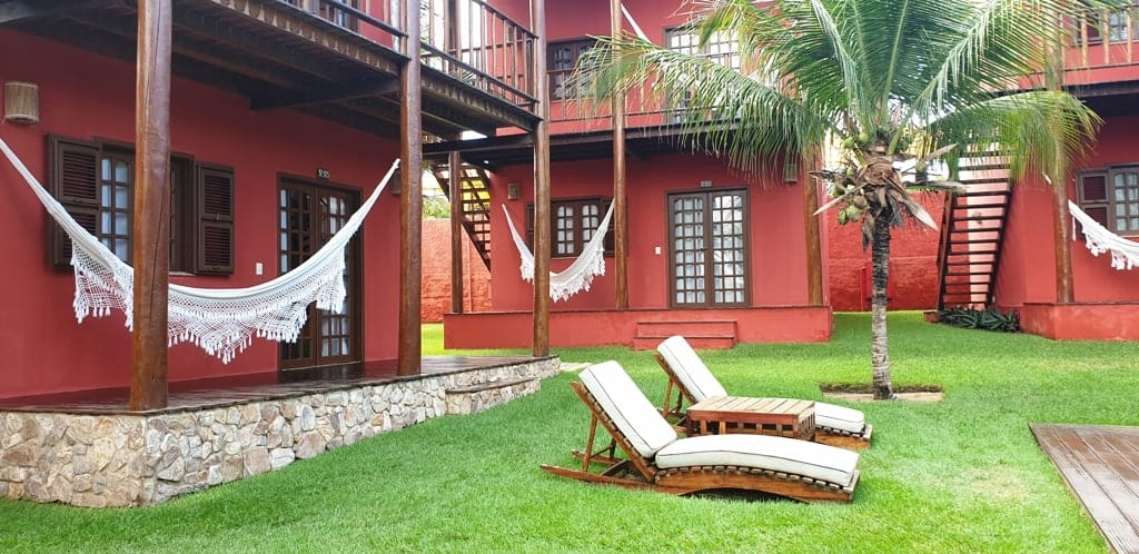 Long Beach Hotel at Canoa Quebrada Ceara Brazil