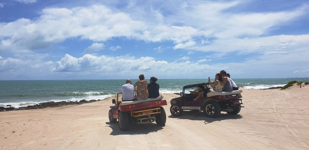 Dune Buggy Tour Canoa Quebrada Ceara Brazil
