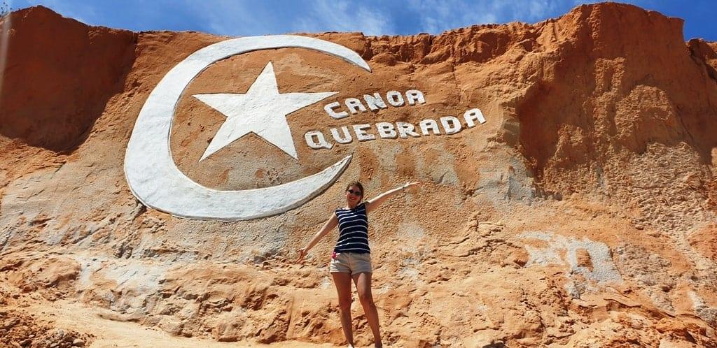Canoa Quebrada symbol Ceara Brazil