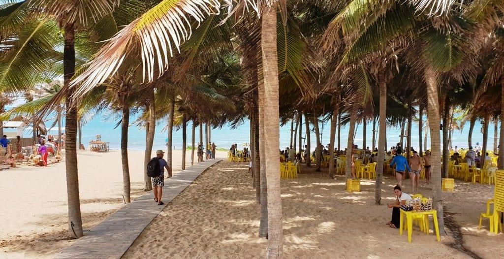 Chega Mais Beach - Canoa Quebrada Ceara Brazi