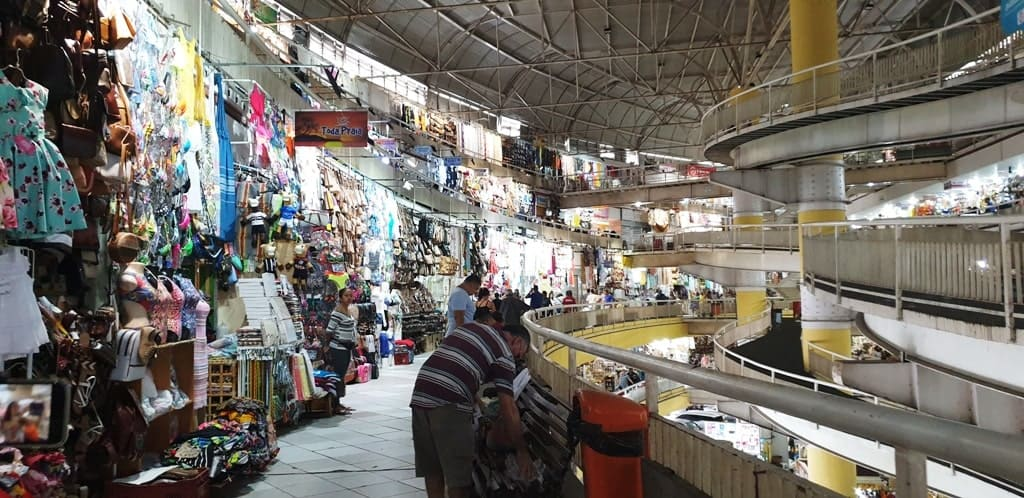 inside the central market of Fortaleza - things to do n Fortaleza
