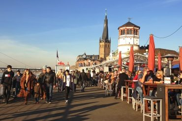one day in Dusseldorf Germany