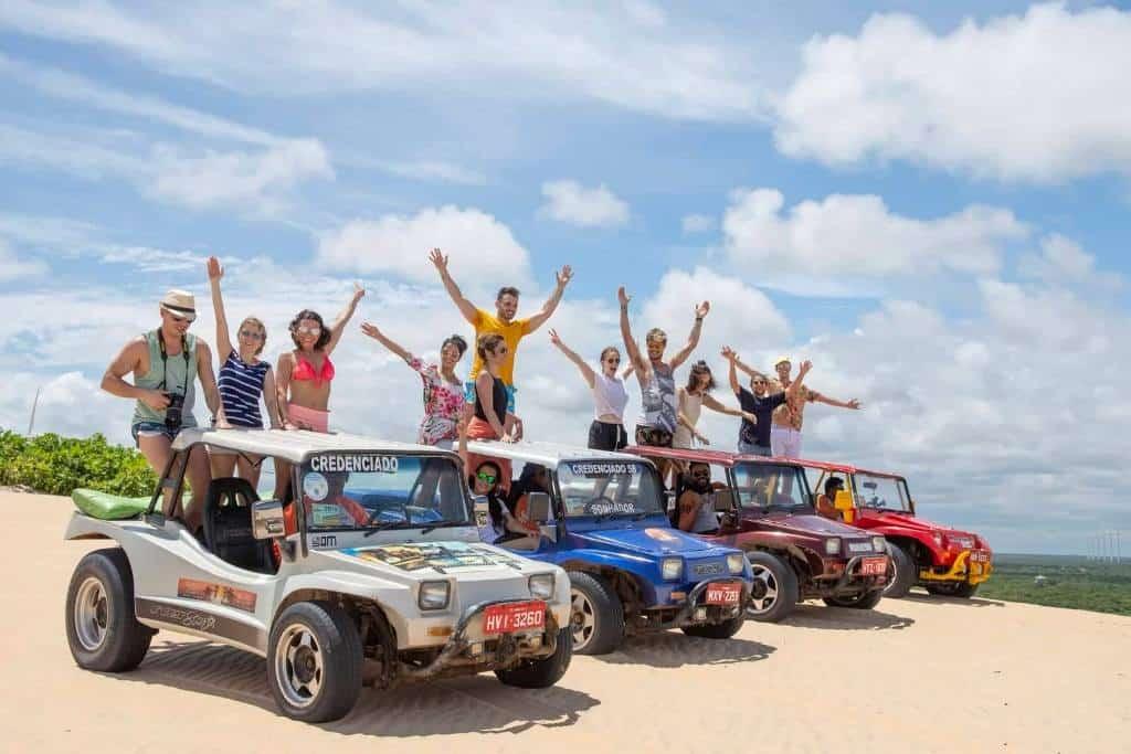 Dune Buggy Tour Canoa Quebrada Brazil