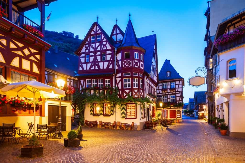 Bacharach old town - Best Towns to visit on the River Rhine