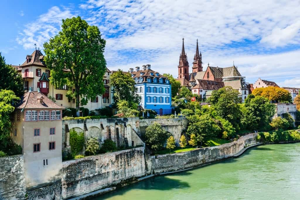 Basel is a great place to go in Europe in June