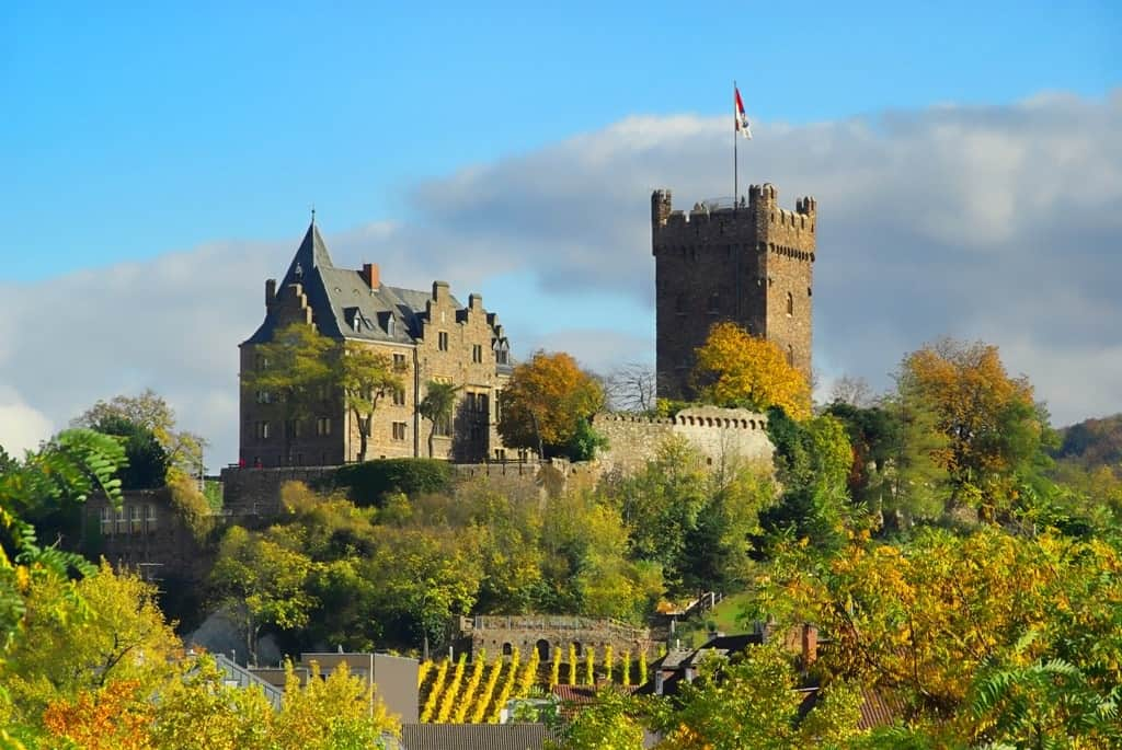 Klopp Castle - The best Castles in the Rhine river