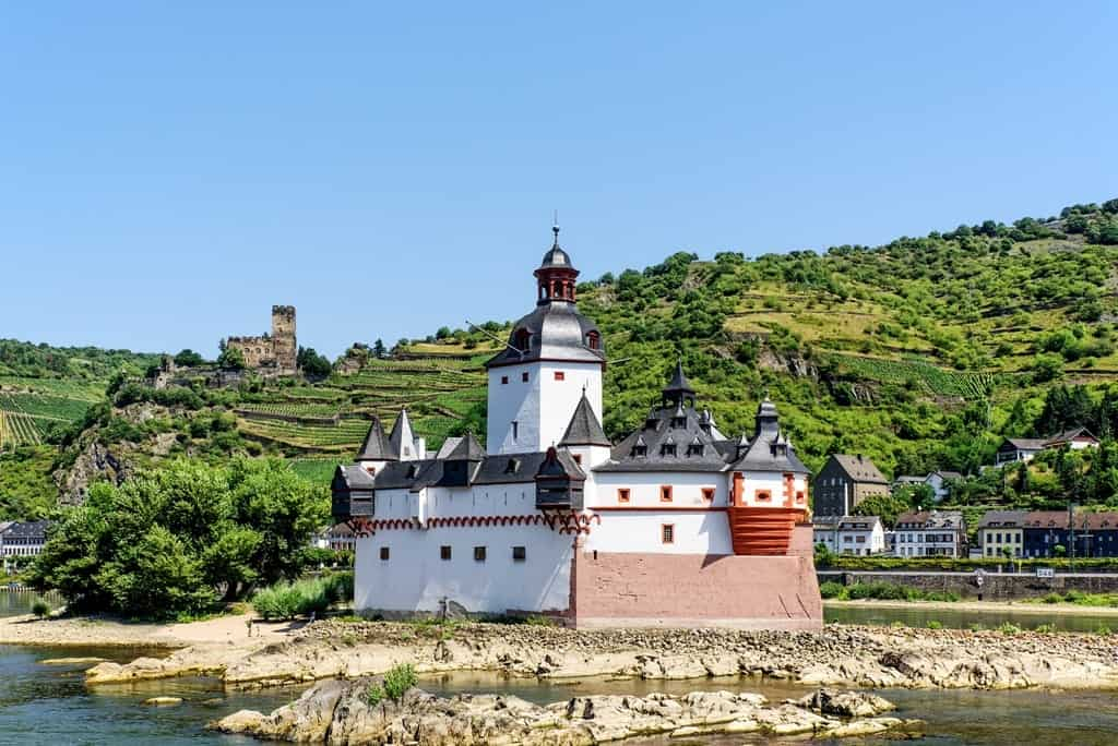 Pfalzgrafenstein Castle - The best Castles in the Rhine river